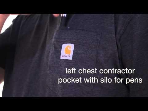 K567 Carhartt Men's Contractor's Work Pocket Short-Sleeve T-Shirt