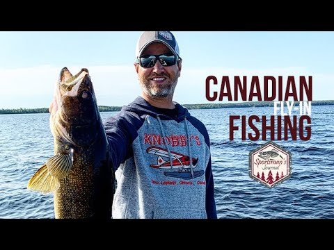 Fly-In Fishing For Walleyes At Knobby's Fly-In Lodge & Outposts (Ontario, Canada)