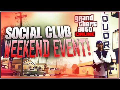 GTA 5 Online: Freemode Weekend Social Club Event! *After Patch 1.29* | (Contests and More)