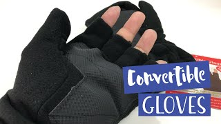 Mittens that convert into gloves! The 2-in-1 convertible winter gloves by Perfect Life Ideas
