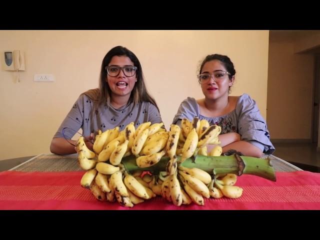 "Banana Challenge | ""Oru pazham koode"" | Ag Vlogs Epi 35 | Amritha suresh | Abhirami Suresh|"