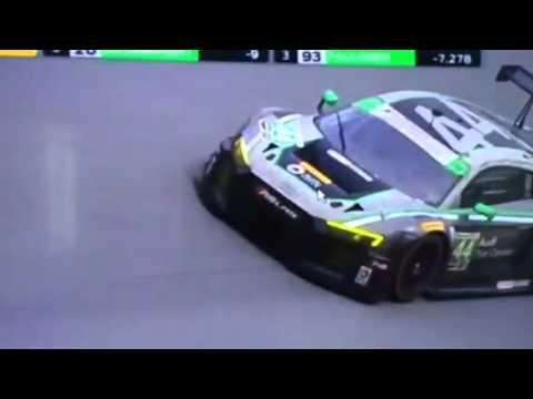 Rene Rast 2016 Daytona 24h Finish line
