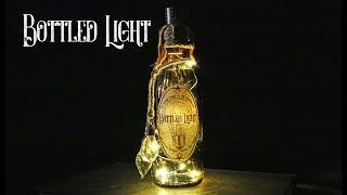 Bottled Light : DIY Potion Bottle : Potion Prop : Steampunk Inspired