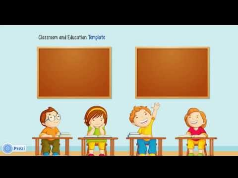 teaching and education - prezi template - youtube, Powerpoint templates