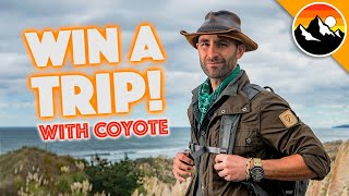 Win a SAFARI ADVENTURE with Coyote!