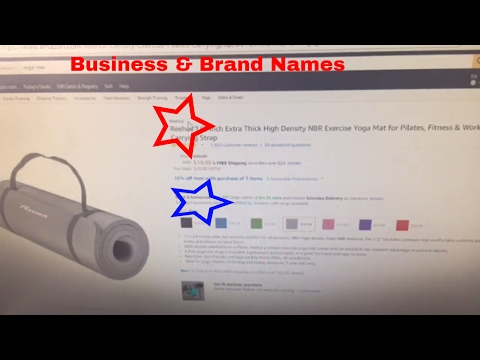 Differences Between Your Amazon FBA Business Name & Private Label Brand Name