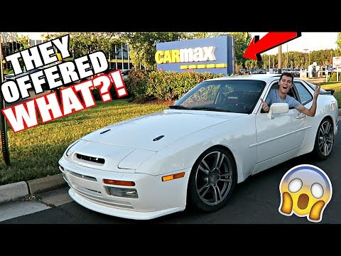 Taking My LS V8 Swapped Porsche To CARMAX! How Much Is It Worth??