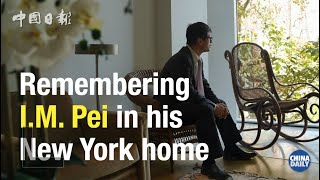 Remembering I.M. Pei in his New York home