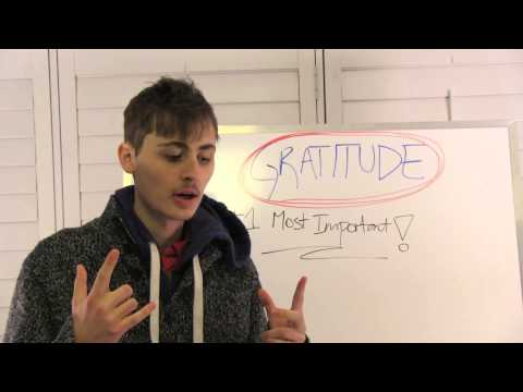 GRATITUDE - #1 MOST IMPORTANT IN THE WORLD!