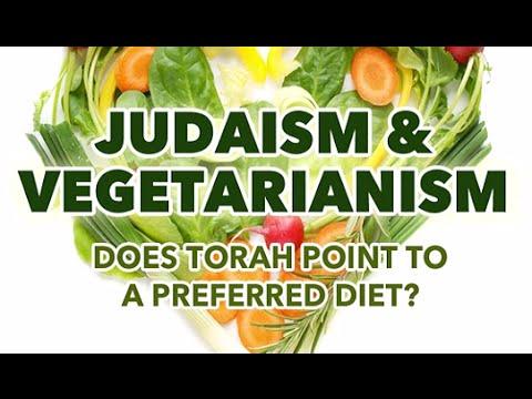 JUDAISM+VEGETARIANISM - Rabbi Michael Skobac (Jews Shabbat Torah Israel Kosher Mitzvot Kabbalah God)