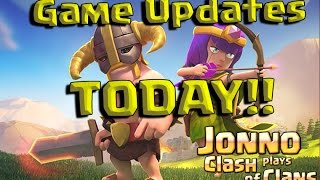 Clash of Clans - Exciting New Game Updates!! The New Face of BARCHING!!!