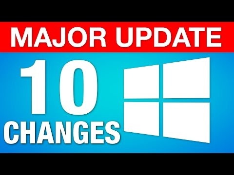 "Major Windows ""Creators Update"" - 10 Best New Features!"