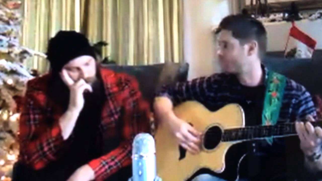 Jason Manns and Jensen Ackles Christmas Songs - YouTube