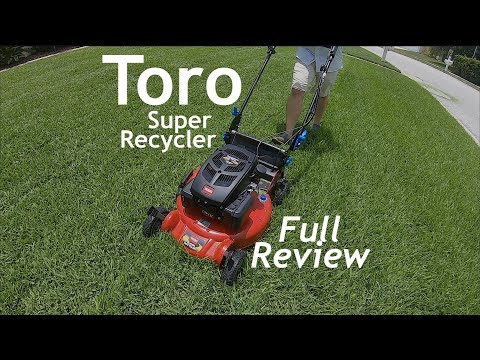 Toro Super Recycler Review | Premium Consumer Lawn Mower