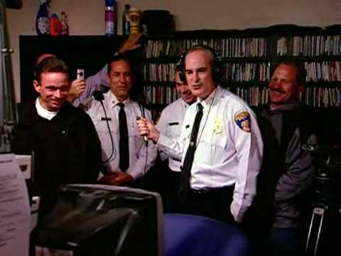 Police Chief Loses Bet, Sings Karaoke