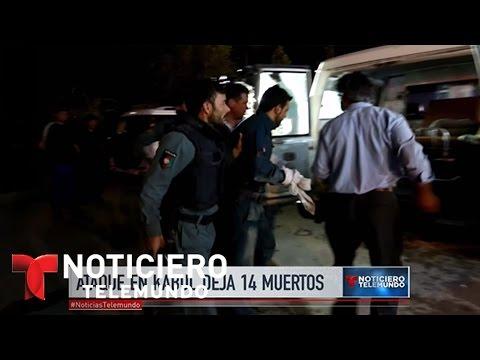 Varios muertos tras ataque de Universidad Americana en Kabul | Noticiero | Noticias Telemundo