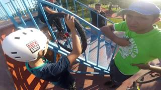 JANT KATLANDI, AHMET ELDEN GİDİYEH - Bisiklet VLOG