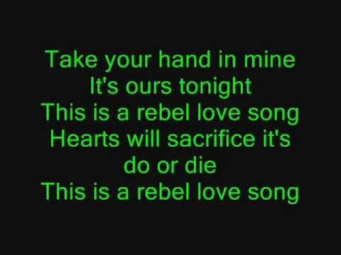 Rebel Love Song Lyrics - Black Veil Brides