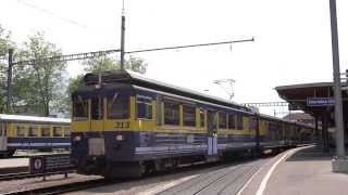 Swiss Rail at Interlaken Ost - 2013