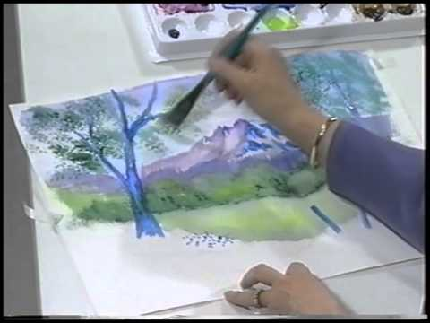 Scheewe Art Workshop - 108 - Landscape Watercolor Painting
