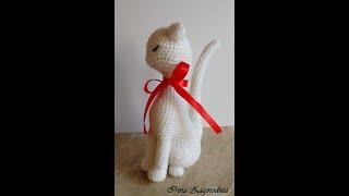Кошка крючком-мастер класс (принцесса Аврора) ч.1. Кошка принцесса-голова