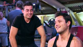 Mark Wright and Arg in the gym - The Only Way Is Essex