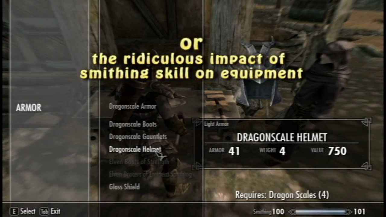 how to get 100 smithing in skyrim ps3