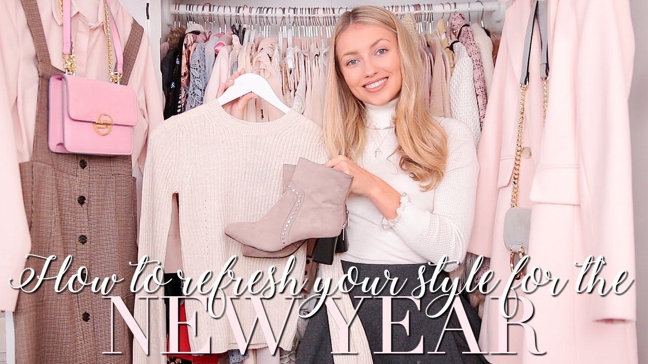 HOW TO REFRESH YOUR STYLE FOR THE NEW YEAR & DRESS CONFIDENTLY ~ Freddy My Love