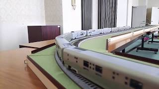 HOゲージ トランスイート四季島 試運転1