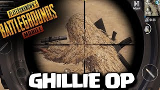 GHILLIE SUITS ARE OP!! PUBG Mobile