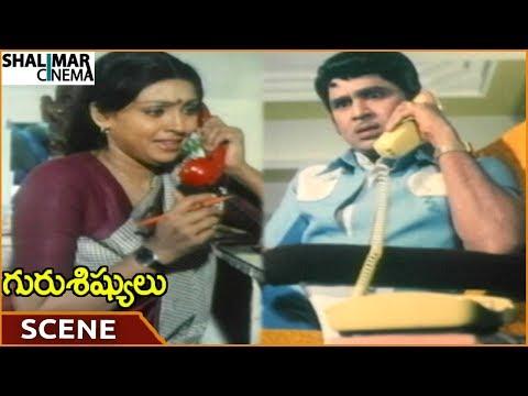 Guru Sishyulu Movie || ANR Planning To Take Revenge On Sujatha || ANR,Krishna || Shalimarcinema