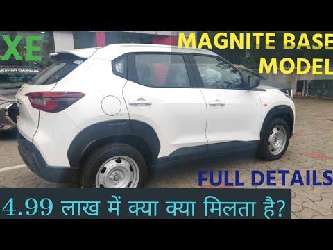 Nissan Magnite 2020   XE base model   onroad price features review  photo  Magnite Nissan base model