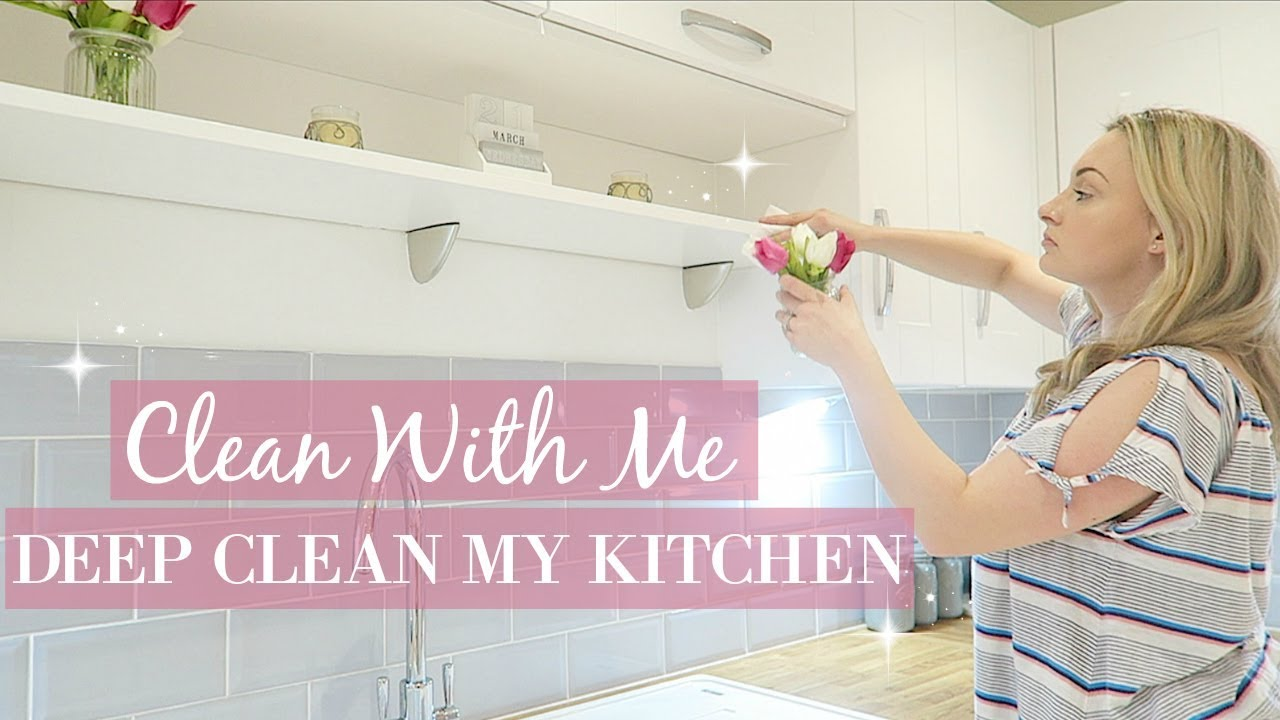 Kitchen Deep Clean Declutter And Organize Kon Marie Method Ultimate Extreme Clean With Me 2018