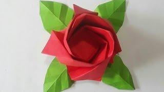 ROSA DE PAPEL origami (Audio Español)