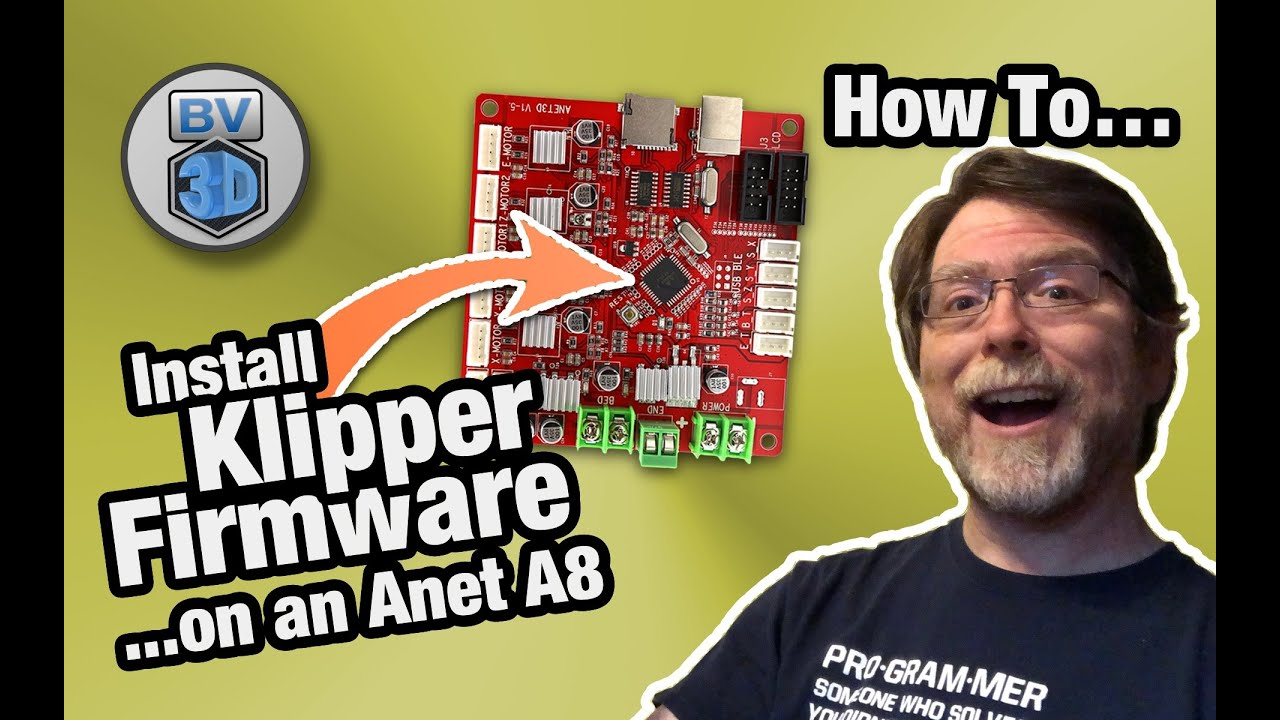 Install Klipper Firmware on the Anet A8 3D Printer