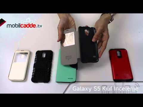 Samsung Galaxy S5 Kılıf İnceleme
