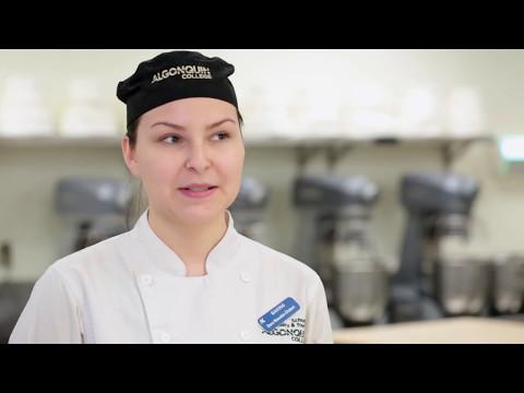 Dara: Student in Baking & Pastry Arts program