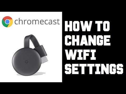 Chromecast How To Change Wifi Network How To Change Wifi Chromecast Google Home Youtube
