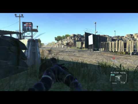 MGS5 Ground Zeroes Gameplay