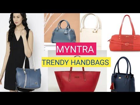 ❤️BAGS HAUL ❤️14 BRANDED HANDBAGS | MYNTRA HAUL ||Dimple Fashion