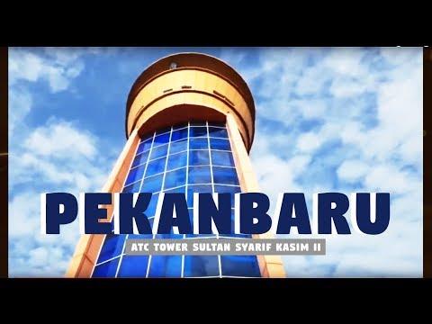 Yu Lihat Bandara Pekan Baru Dan ATC Tower Sultan Syarif Kasim II - Sekolah ATC Swasta Juga Ada Lho