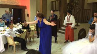 Свадьба. Танец зятя и тещи.