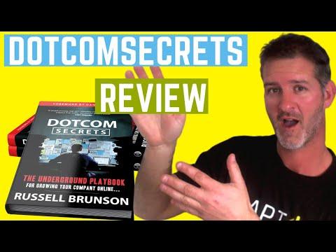 dotcom secrets book review 2018- dotcom secrets review -  Russell Brunson Clickfunnels review