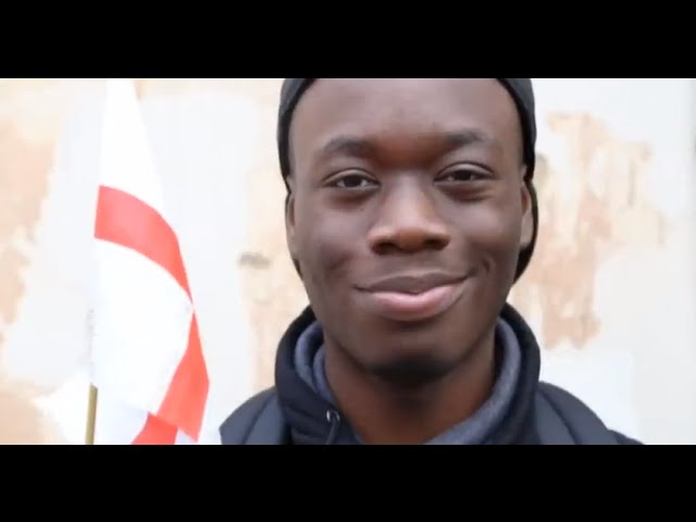 Speaking in English - A spoken word poem by Emmanuel Nwaohai | Channel 4 News