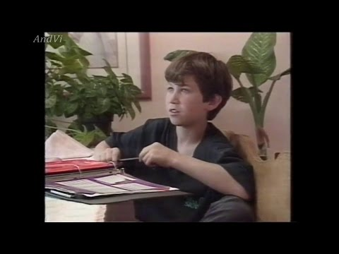 "Benji Gregory (Brian) from the TV-Series ""Alf"" Interview Swedish TV 1991"