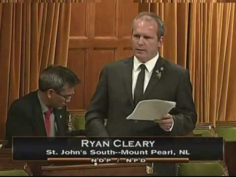 Ryan Cleary on The Conservative Omnibus Crime Bill - Bill C-10