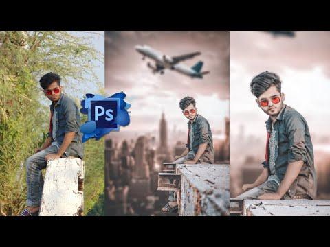 Photoshop Manipulation Poster Editing Photoshop Sky Editing Photoshop Tutorial
