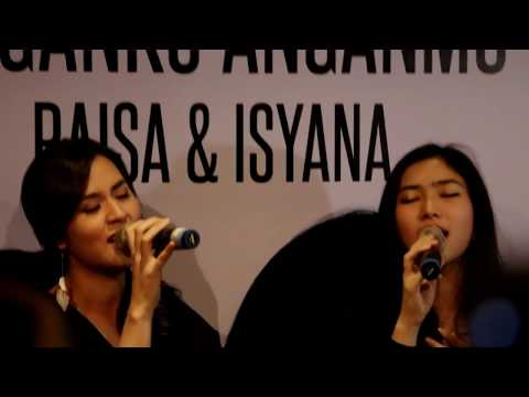 "Raisa & Isyana Press Conference ""Anganku Anganmu"" 290317"