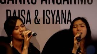 "Raisa & Isyana Press Conference ""Anganku Anganmu"" 290317"