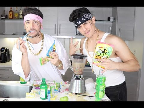 Thumbnail: CHOLOS DO THE WORLDS SOUREST DRINK CHALLENGE